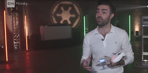 Star Wars new drones 3 pilots promotion